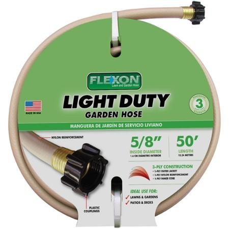 5/8 Expert Gardener 50u0027 Light Duty Garden Hose By Flexon