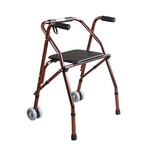 Andadores para discapacidad Andador para Ancianos Walker aleación ...