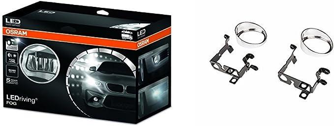 Osram Ledriving Fog Bundle Ledfog101 Ledfog101 Ty M Beinhaltet Led Nebellicht Mit Tagfahrlicht Funktion Und Montage Set Für Bestimmte Fahrzeugmodelle Auto