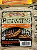 Old Wisconsin Natural Casing Bratwurst 14 Oz (4 Pack)