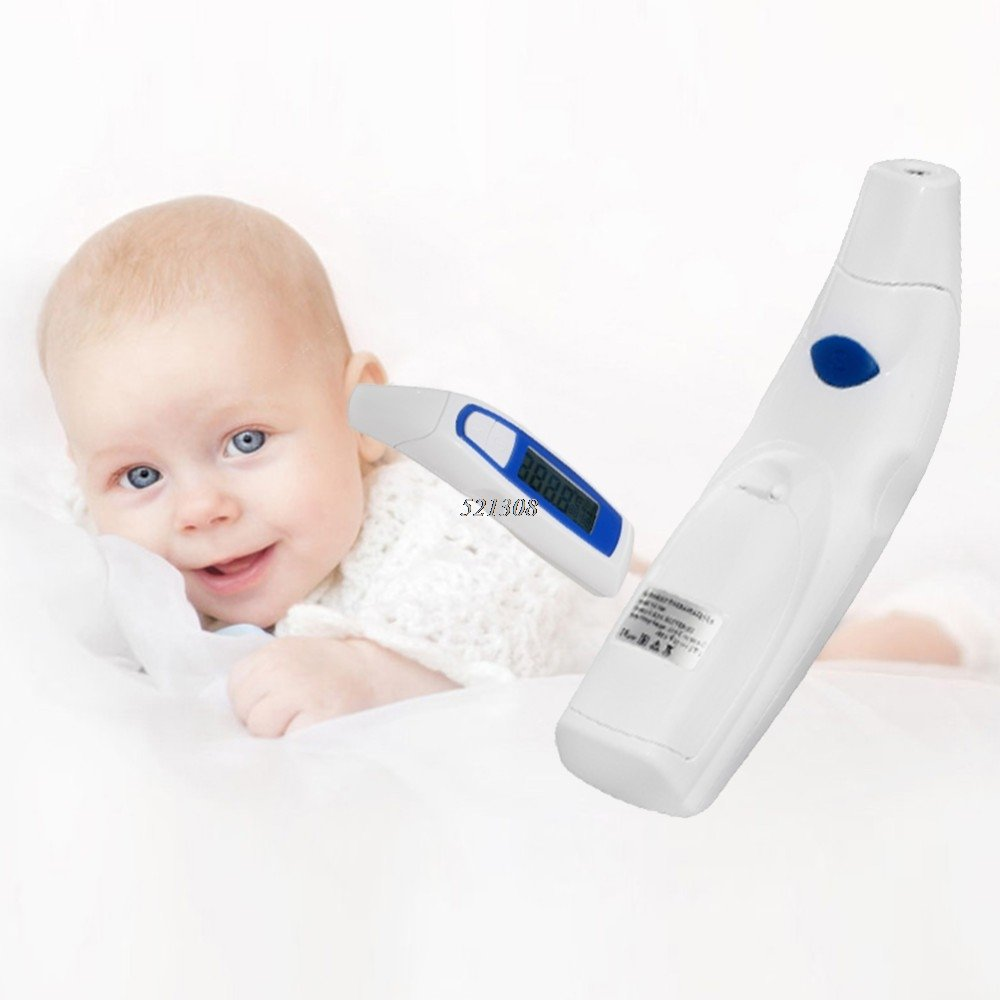 Termómetro Digital de Frente Frontal y Oido para Bebe Niño Adultos infrarrojo