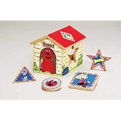 Clifford the Big Red Dog Shape Sorter: Pet Supplies