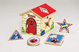 Clifford the Big Red Dog Shape Sorter