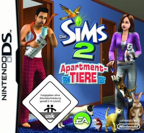 Electronic Arts The Sims 2 Apartment Pets, Nintendo DS - Juego (Nintendo DS, Nintendo DS, Simulación, E (para todos)): Amazon.es: Videojuegos