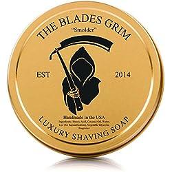 "The Blades Grim Gold Luxury Shaving Soap, ""Smolder"""