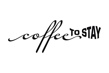 universumsum Wandtattoo Coffee to stay rosa 40 x 14 cm ...