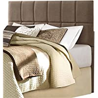 Homelegance Potrero Queen/Full Size Fabric Headboard, Brown