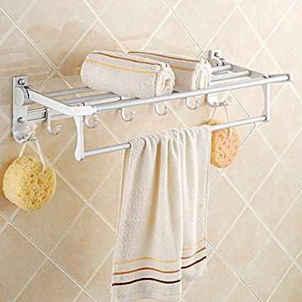 Cuarto de baño estante de colgar de la pared WC baño Toalla de toallas de baño