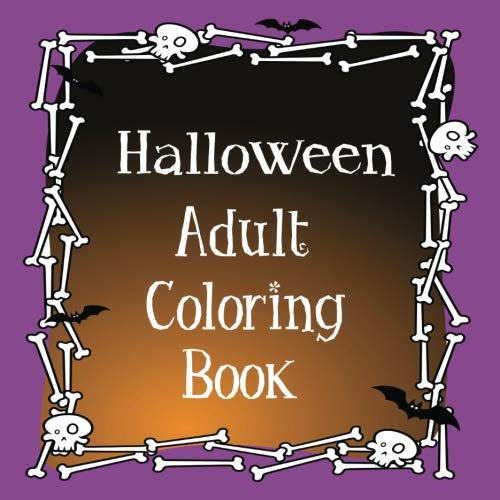 Halloween Adult Coloring Book: Haunted Mandala, Scary Emojis for Adults, Tweens, and Kids ()