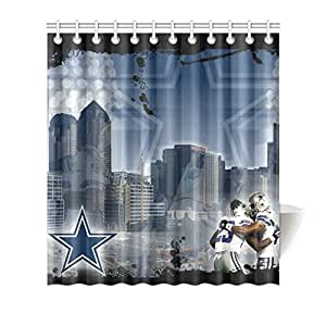 "Dallas Cowboys Shower Curtain Fit 60""*72"""