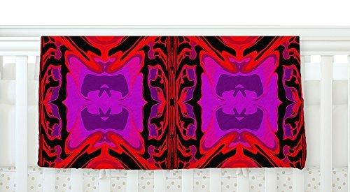 KESS InHouse Nina May Ornamena Fleece Baby Blanket 40 x 30 [並行輸入品]   B077ZW43L7