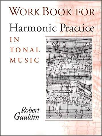 HARMONIC PRACTICE IN TONAL MUSIC ROBERT GAULDIN PDF