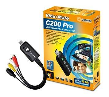 Videomate C200 Pro USB Audio Video Capture Stick
