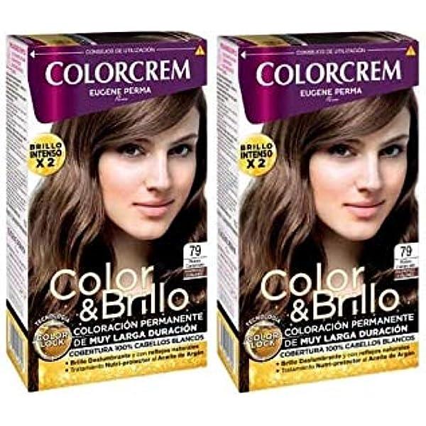 Colorcrem Tinte 2X1 79 Rub Caramelo 545 gr: Amazon.es ...