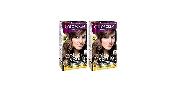 Colorcrem Tinte 2X1 79 Rub Caramelo 545 gr: Amazon.es: Belleza