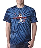 "The Silo NAVY TIE-DYE Atlanta ""Air Chipper PIC"" T-Shirt"