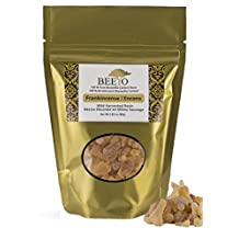 BEEYO 100 % Pure Frankincense (Boswellia Carterii) Resin / Incense Highest Quality 1st Grade Choice Wild Harvested in Somalia