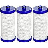 AquaCrest WF1CB Replacement for WF1CB, WFCB, RG100, NGRG2000, WF284, 9910, 469906, 469910 Refrigerator Water Filter (Pack of 3)