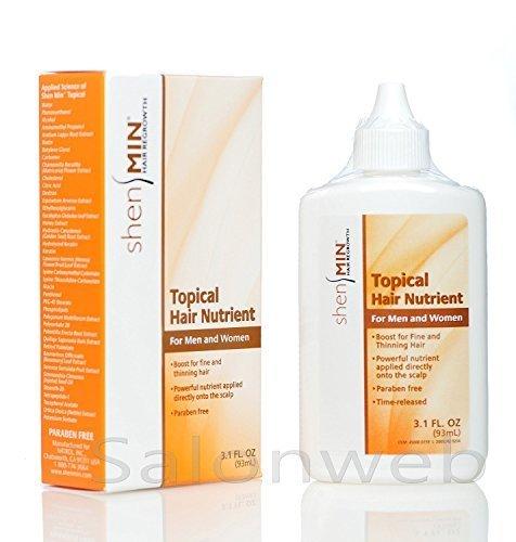 Shen Min Topical Hair Nutrients 3.1 Fl ounces 2 Pack