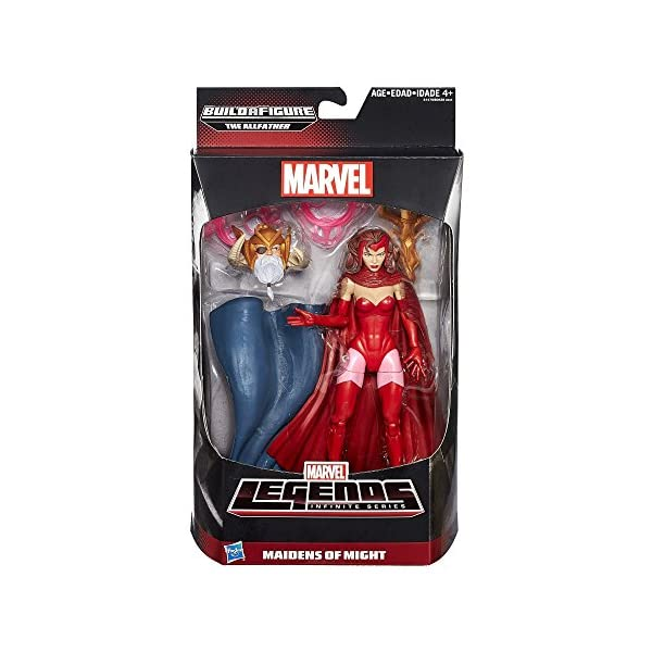 51NE1jX4 wL Marvel Legends Infinite Series Maidens of Might Scarlet Witch 6 Inch Figure