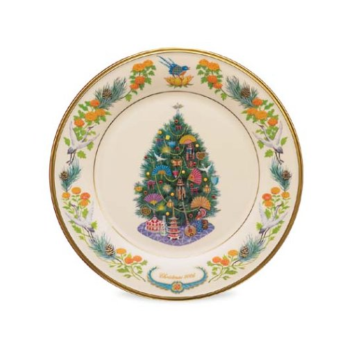 Lenox 2006 Trees-Around-the-World Collector Plate