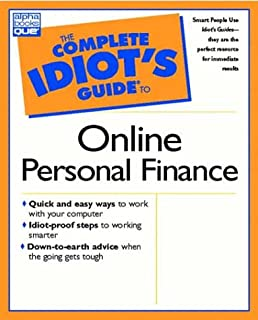 complete idiot s guide to online personal finance bonnie biafore rh amazon com complete idiot's guide to personal finance Complete Guide Idiots Funny