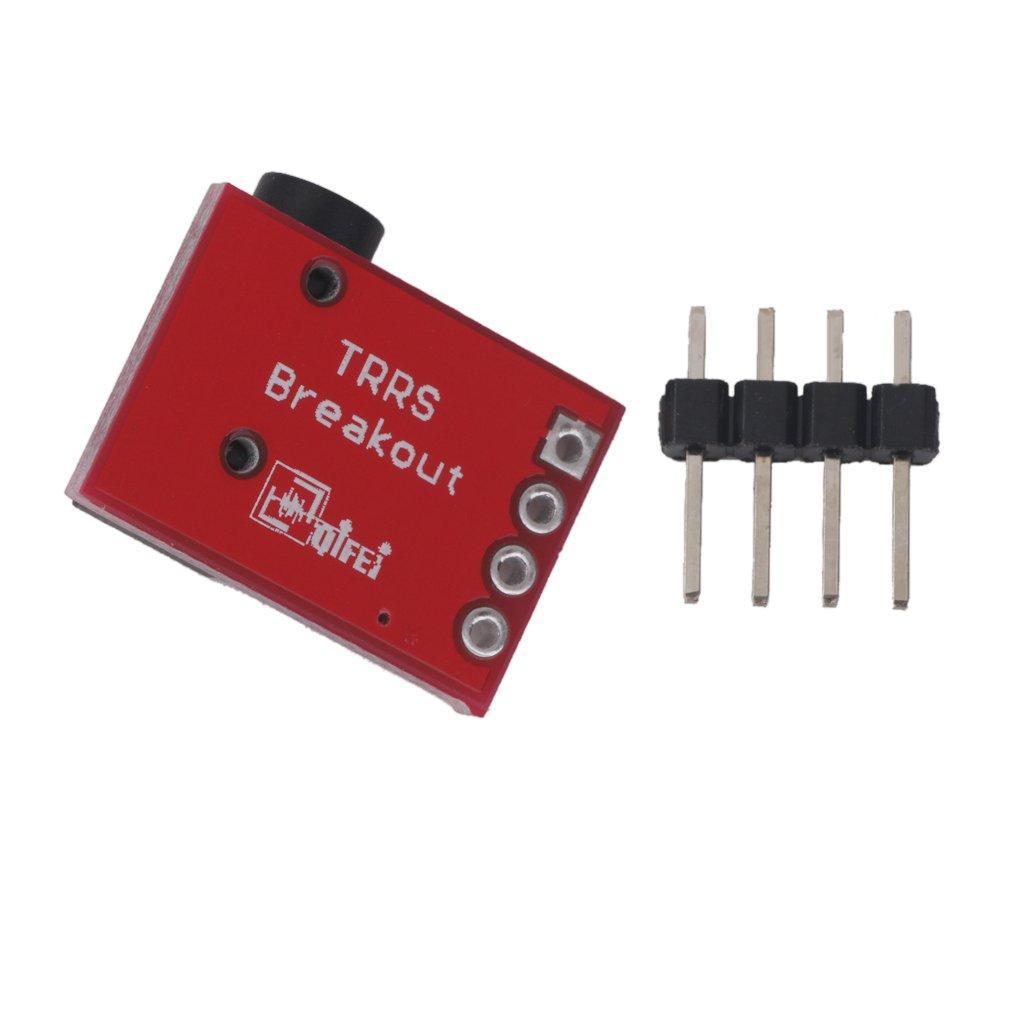 5x Trrs 35mm Jack Breakout Board Headset Stereo Socket Details About 1 X Female To Wiring Block Keystone Extension Module Electronics