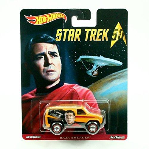 - BAJA BREAKER Star Trek / LtCdr. Montgomery Scotty Scott Hot Wheels 2015 Pop Culture Star Trek 50th Anniversary Series Die-Cast Vehicle by Pop Culture