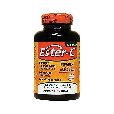 Ester-C, polvo con bioflavonoides cítricos, a 8 oz (226,8 g) - American Health: Amazon.es: Salud y cuidado personal
