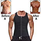 Are you dreamed to be a stong muscle man? Ursexyly Zipper Tummy Trainer Vest will be helpful.Maximizes and intensifies your workout by sweating your problem areas; works to heat up your back muscles to help alleviate any back discomfort.It looks grea...