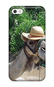 Iphone 5/5s Case Cover Camel Hat Sea Sun Green Sky Animal Other Case - Eco-friendly PackagingKimberly Kurzendoerfer