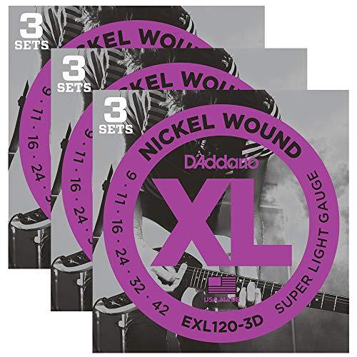 D'Addario EXL120 Electric 9-42 9-Pack ()