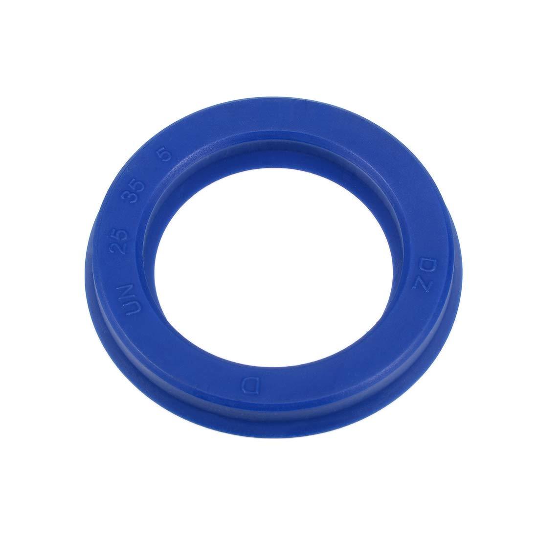 Piston Shaft U32i PU Oil Sealing O-Ring 35mm x 43mm x 6mm uxcell Hydraulic Seal