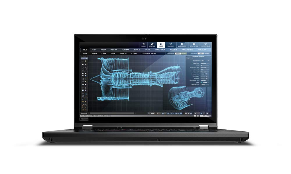 Lenovo ThinkPad P53 Noir Station de travail mobile 39,6 cm (15.6') 1920 x 1080 pixels 9th gen Intel® Core™ i7 i7-9850H 16 Go DDR4-SDRAM 1000 Go SSD Windows 10 Pro
