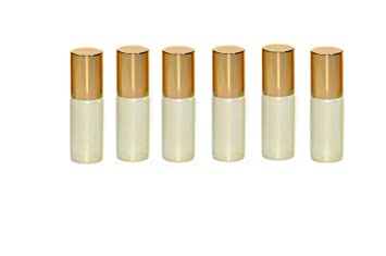 f171b1765180 Amazon.com: 12PCS 5ml/0.17oz Empty Refillable Pearlescent Glass ...