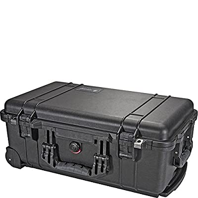 Pelican 1510 Case with Foam (Camera, Gun, Equipment, Multi-Purpose) - Black by Pelican Products