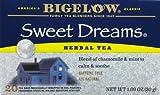 Bigelow Tea Sweet Dreams 20 Bags (Pack of 4)