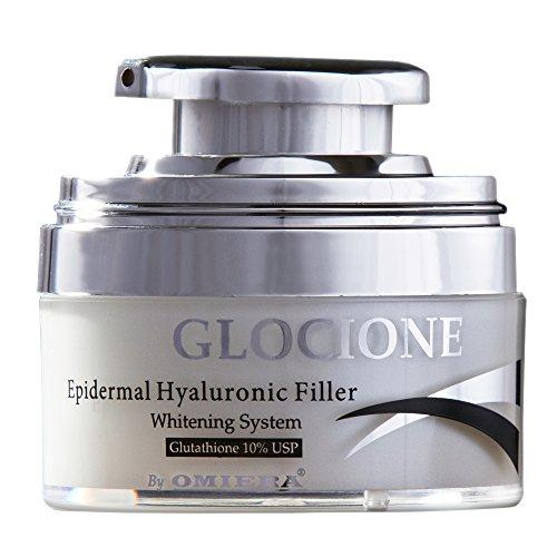 Omiera Labs Glocione Anti-Aging Skin Whitening Glutathione Cream,...