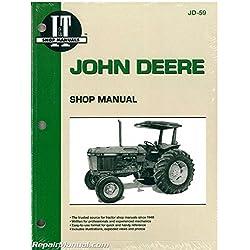 JD-59 John Deere 2750 2755 2855 2955 Tractor Works