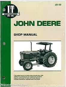 JD-59 John Deere 2750 2755 2855 2955 Tractor Workshop Manual ... on 2955 john deere radiator, 2955 john deere tractor, 2955 john deere parts manual, 2955 john deere transmission, 2955 john deere flywheel, 2955 john deere lights, 2955 john deere exhaust system,