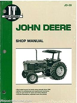 jd 59 john deere 2750 2755 2855 2955 tractor workshop manual rh amazon com John Deere 265 Schematic John Deere L120 Electrical Diagram