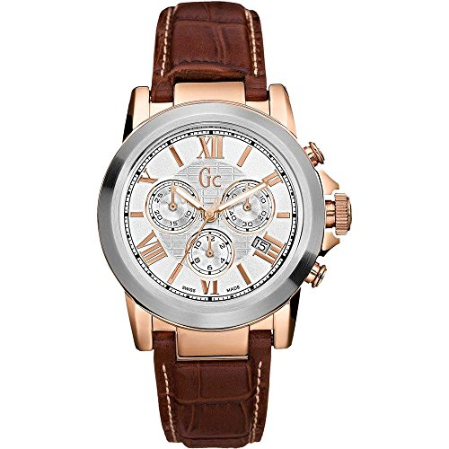 Guess Men's Watches Guess Collection Medium Leather Strap 41501G1 - WW
