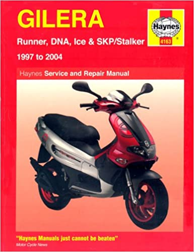 Book Gilera Runner, DNA, Ice and Stalker Scooters Service and Repair Manual: 1997 to 2004 (Haynes Service and Repair Manuals)