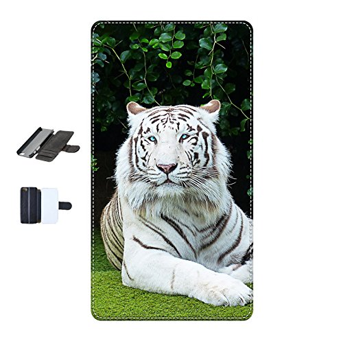 Housse Iphone 7 - Tigre-Bengale-Blanc