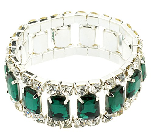 Veenajo Ladies Gorgeous Bracelet Valentine's Day Gift Silver-Tone - Serial Indian Sites