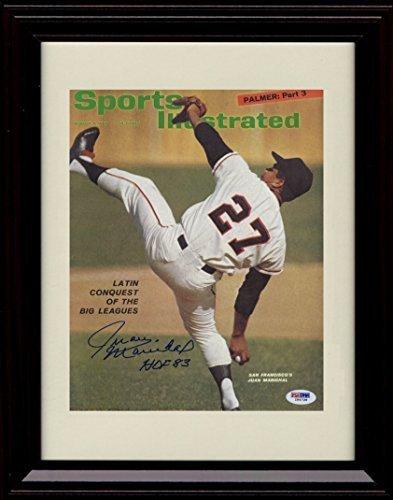 【正規通販】 Framed Juan Marichal Marichal Sports Juan Illustrated Autographレプリカ印刷 Sports B01MXLGQ5W, オールジュエリー:38d18678 --- arianechie.dominiotemporario.com