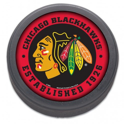 WinCraft NHL Chicago Blackhawks Hockey (Nhl Team Hockey Pucks)
