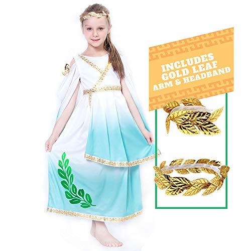 Spooktacular Creations Deluxe Greek Goddess Costume Set (s(5-7), Greek)