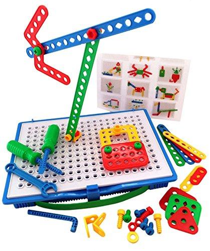 Tinker Toys For Boys : Skoolzy educational preschool building toys pc kids