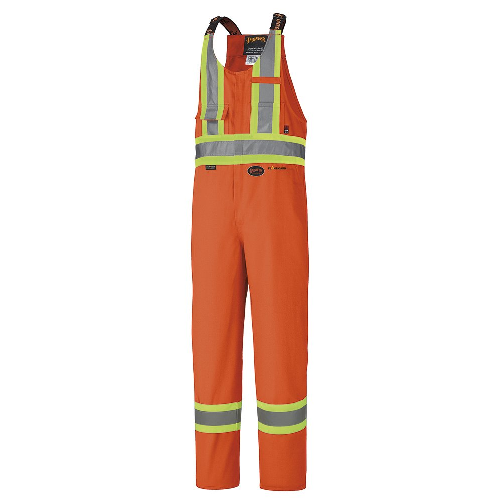 Pioneer V2550210-2XL Flame Resistant Safety Overall, Royal Blue, 2X-Large